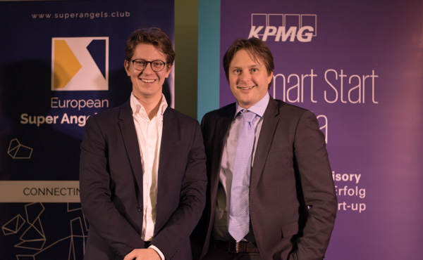 from left: Sanjin Belkic and Michael Petritz from KPMG Austria